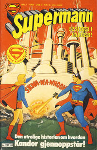 Cover Thumbnail for Supermann (Semic, 1977 series) #1/1981