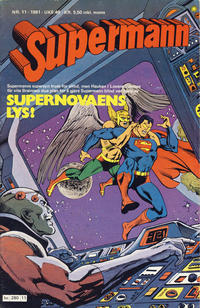 Cover Thumbnail for Supermann (Semic, 1977 series) #11/1981