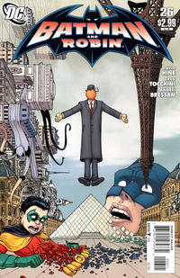 Cover Thumbnail for Batman and Robin (DC, 2009 series) #26