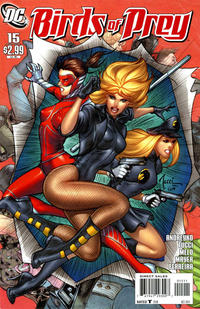 Cover Thumbnail for Birds of Prey (DC, 2010 series) #15