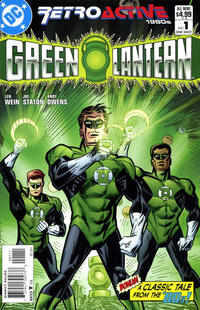 Cover Thumbnail for DC Retroactive: Green Lantern - The '80s (DC, 2011 series) #1