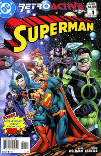 Cover Thumbnail for DC Retroactive: Superman - The '80s (DC, 2011 series) #1