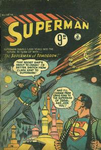 Cover Thumbnail for Superman (K. G. Murray, 1947 series) #108