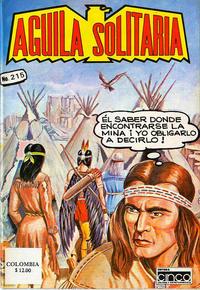 Cover Thumbnail for Aguila Solitaria (Editora Cinco, 1976 ? series) #215