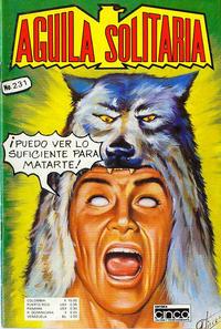 Cover Thumbnail for Aguila Solitaria (Editora Cinco, 1976 ? series) #231