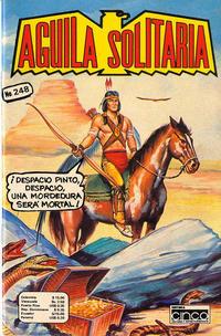 Cover Thumbnail for Aguila Solitaria (Editora Cinco, 1976 ? series) #248