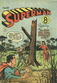 Cover Thumbnail for Superman (K. G. Murray, 1947 series) #89