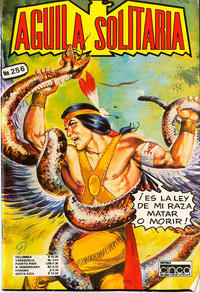 Cover Thumbnail for Aguila Solitaria (Editora Cinco, 1976 ? series) #256