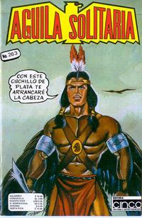 Cover Thumbnail for Aguila Solitaria (Editora Cinco, 1976 ? series) #263