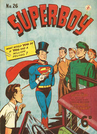 Cover Thumbnail for Superboy (K. G. Murray, 1949 series) #26