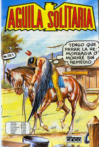 Cover Thumbnail for Aguila Solitaria (Editora Cinco, 1976 ? series) #281