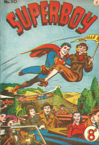 Cover Thumbnail for Superboy (K. G. Murray, 1949 series) #30
