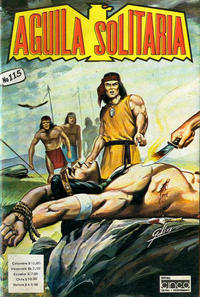 Cover Thumbnail for Aguila Solitaria (Editora Cinco, 1976 ? series) #115
