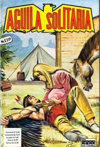 Cover Thumbnail for Aguila Solitaria (Editora Cinco, 1976 ? series) #119
