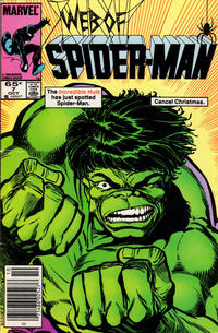 Cover Thumbnail for Web of Spider-Man (Marvel, 1985 series) #7 [Newsstand Edition]