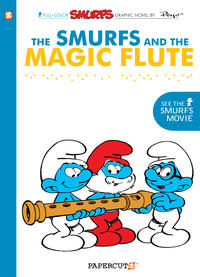 Cover Thumbnail for Smurfs Graphic Novel (NBM, 2010 series) #2 - The Smurfs and the Magic Flute