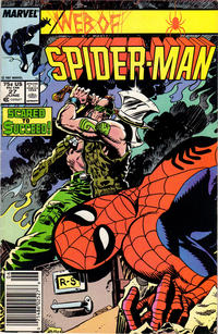 Cover Thumbnail for Web of Spider-Man (Marvel, 1985 series) #27 [Newsstand Edition]