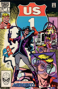 Cover Thumbnail for U.S. 1 (Marvel, 1983 series) #2 [Direct]