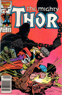 Cover Thumbnail for Thor (Marvel, 1966 series) #375 [Newsstand Edition]