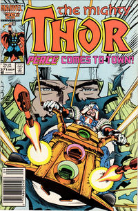 Cover Thumbnail for Thor (Marvel, 1966 series) #371 [Newsstand Edition]