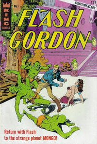 Cover Thumbnail for Flash Gordon (King Features, 1966 series) #1 [Cerebal Palsy Association Giveaway Cover]