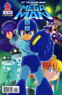 Cover Thumbnail for Mega Man (Archie, 2011 series) #4