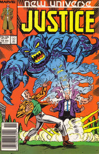 Cover Thumbnail for Justice (Marvel, 1986 series) #13 [Newsstand]