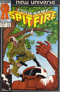 Cover Thumbnail for Codename: Spitfire (Marvel, 1987 series) #10 [Direct]