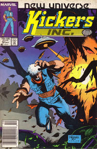 Cover Thumbnail for Kickers, Inc. (Marvel, 1986 series) #12 [Newsstand]
