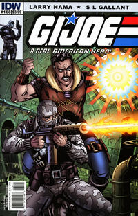 Cover Thumbnail for G.I. Joe: A Real American Hero (IDW, 2010 series) #168 [Cover B]