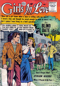 Cover Thumbnail for Girls in Love (Quality Comics, 1955 series) #50