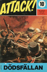 Cover Thumbnail for Attack (Semic, 1967 series) #10/1970