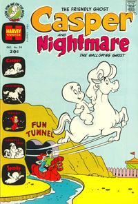 Cover Thumbnail for Casper & Nightmare (Harvey, 1964 series) #39