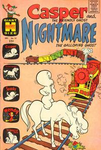 Cover Thumbnail for Casper & Nightmare (Harvey, 1964 series) #15