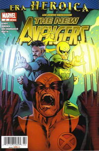 Cover Thumbnail for Los Nuevos Vengadores, the New Avengers (Editorial Televisa, 2011 series) #2