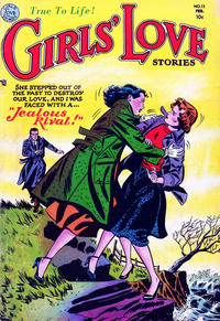 Cover Thumbnail for Girls' Love Stories (DC, 1949 series) #15