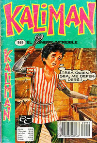 Cover Thumbnail for Kaliman (Editora Cinco, 1976 series) #959