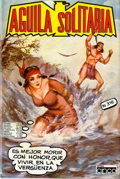 Cover for Aguila Solitaria (Editora Cinco, 1976 ? series) #316