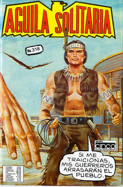 Cover for Aguila Solitaria (Editora Cinco, 1976 ? series) #318