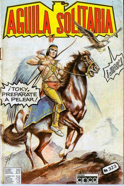 Cover for Aguila Solitaria (Editora Cinco, 1976 ? series) #323