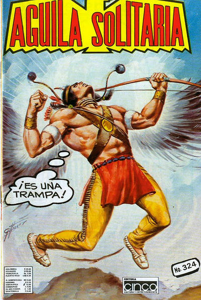 Cover for Aguila Solitaria (Editora Cinco, 1976 ? series) #324