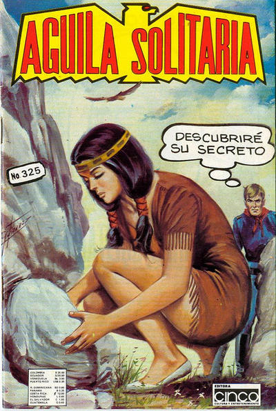 Cover for Aguila Solitaria (Editora Cinco, 1976 ? series) #325