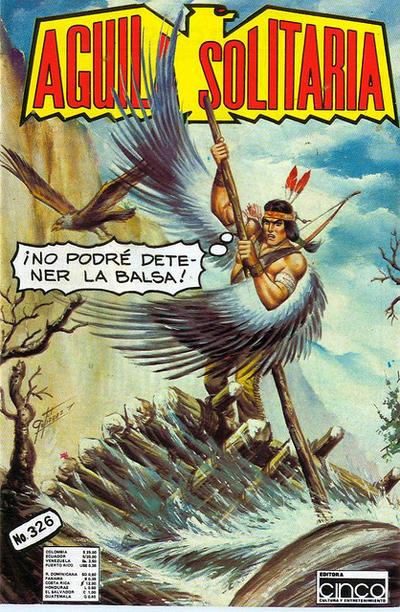 Cover for Aguila Solitaria (Editora Cinco, 1976 ? series) #326