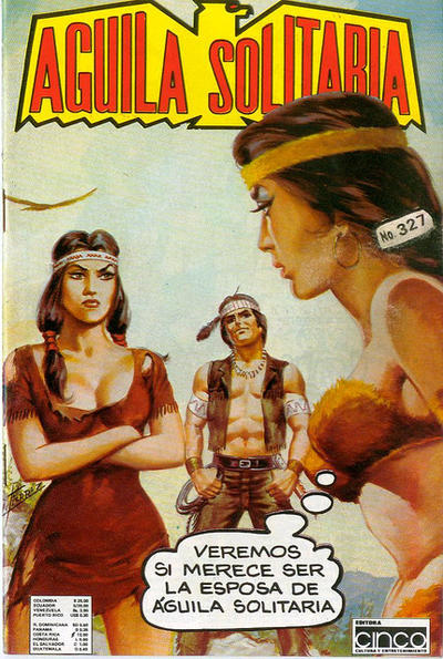 Cover for Aguila Solitaria (Editora Cinco, 1976 ? series) #327