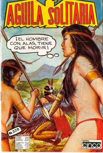 Cover for Aguila Solitaria (Editora Cinco, 1976 ? series) #328
