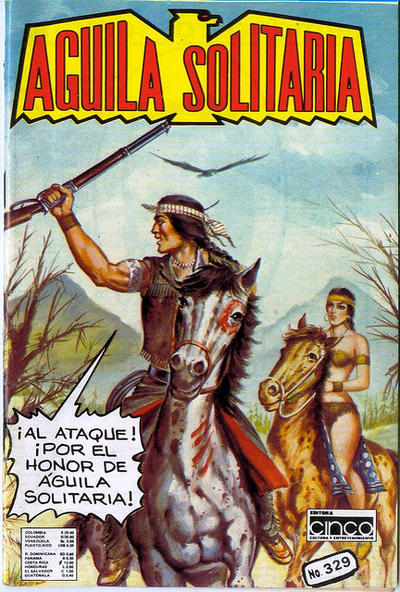 Cover for Aguila Solitaria (Editora Cinco, 1976 ? series) #329