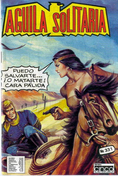 Cover for Aguila Solitaria (Editora Cinco, 1976 ? series) #331