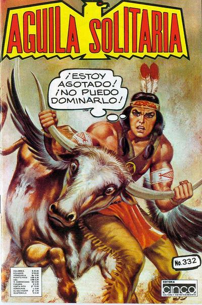 Cover for Aguila Solitaria (Editora Cinco, 1976 ? series) #332