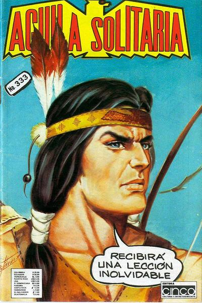 Cover for Aguila Solitaria (Editora Cinco, 1976 ? series) #333