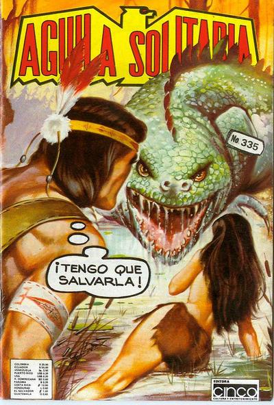 Cover for Aguila Solitaria (Editora Cinco, 1976 ? series) #335